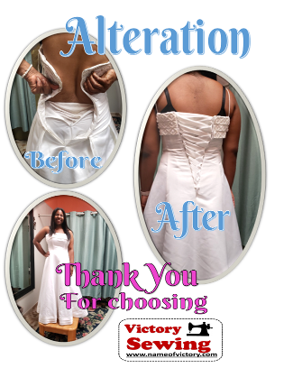 Alteration Wedding Dress