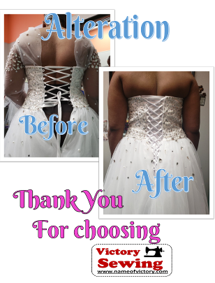 Wedding Alteration